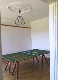 Pingisbord i ateljen